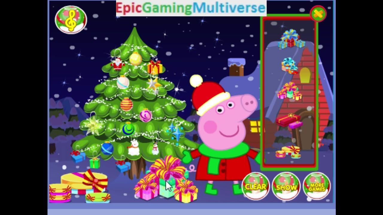 peppa pig christmas tree decoration gameplay decorating a christmas tree epicgamingmultiverseengrossingcontent epicgamingmultiverseengrossingcontent