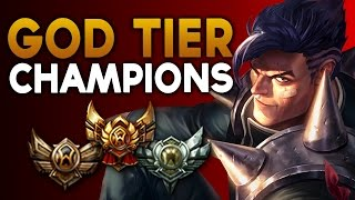GOD TIER Champions in Bronze/Silver/Gold - FOR EVERY ROLE (League of Legends)