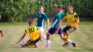 Rzut karny w meczu ULKS Ołdaki - ORZ Goworowo