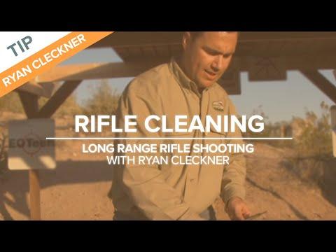 Rifle Cleaning - Long Range Shooting Tip