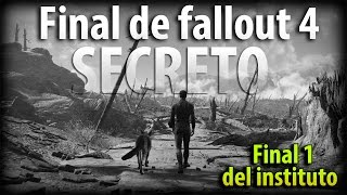 Fallout 4 - Final secreto del instituto, escena Bonus. Qu pasa despu s An lisis final 1 de 3