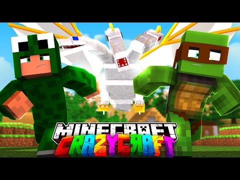 Minecraft - CRAZYCRAFT 3 - LITTLE LIZARD AND TINY TURTLE ARE BACK #1