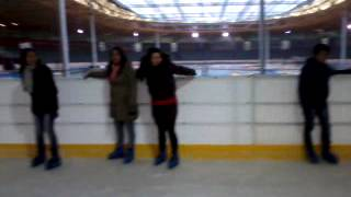 Ice skating in the Uithof with CYN Den haag