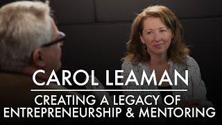 Wir schaffen ein Vermächtnis von Serial Entrepreneurship & Startup-Mentoring | Axonify ist Carol Leaman