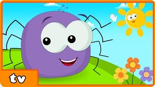 Itsy Bitsy Spider | Incy Wincy Spider | Plus Lots More Popular Nursery Rhymes By HooplakidzTv