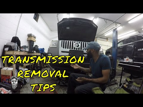 Transmission Removal Tips | 2010 Mercury Mariner