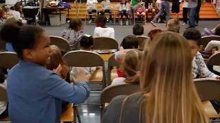 The Universe and Other Stuff Musical 2018 at John Muir Elementary - Clip 01