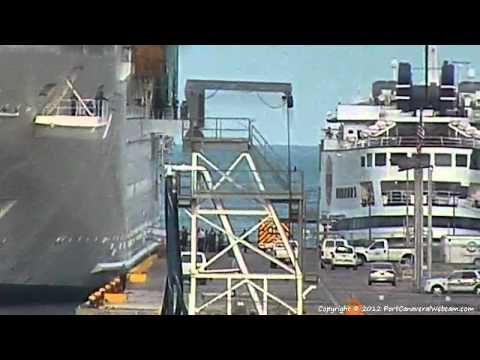 Freedom of the Seas Medical Emergency Port Canaveral Part 1 9-2-2012