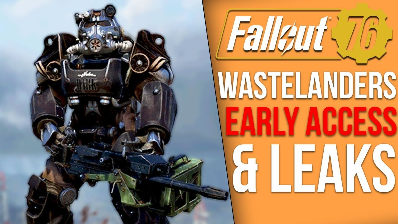 Fallout 76 News - Wastelanders Early Access Begins & Users Immediately Leak Major Details thumbnail