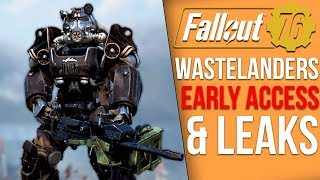 Fallout 76 News - Wastelanders Early Access Begins & Users Immediately Leak Major Details