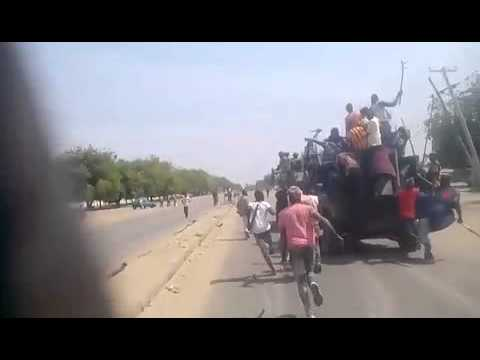Boko Haram: the Civilian Joint Task Force (CJTF) chased out Boko Haram from entering Maiduguri.