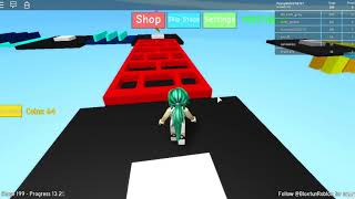 Roblox Mega Fun Obby Ep 12: Levels 190-210 Hholykukngames Playing