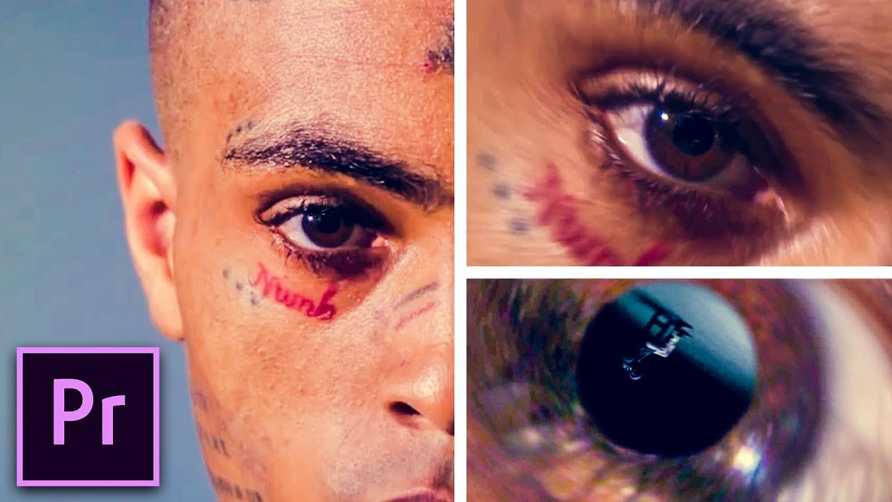 How to Recreate the Eye Zoom Transition from XXXTentacion's