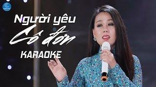 [KARAOKE] Người Yêu Cô Đơn - Lưu Ánh Loan
