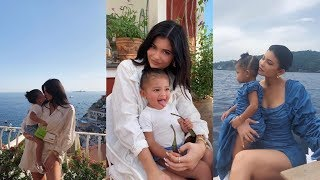 Kylie Jenner's Birthday Trip in Italy