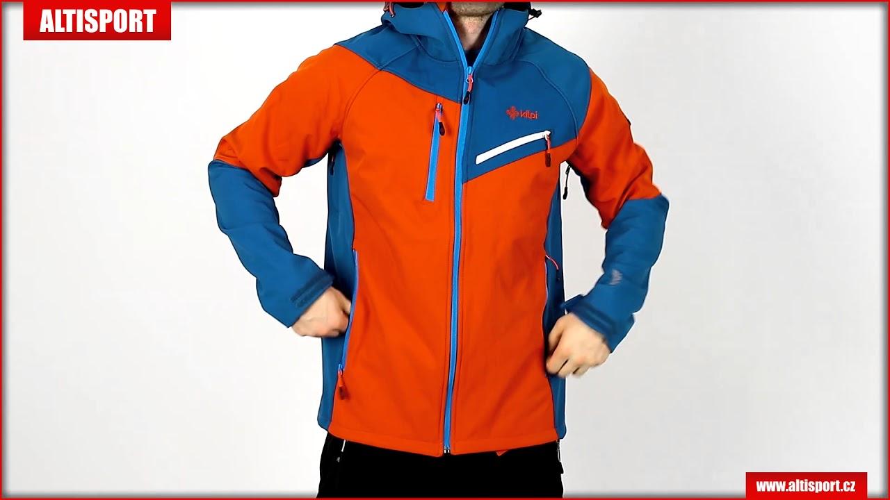 pánská softshellová bunda kilpi zenith m hm0108ki oranžová - YouTube 7ebf4a90631