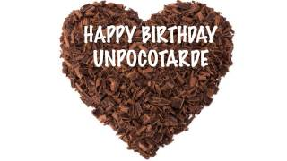 UnPocoTarde   Chocolate - Happy Birthday