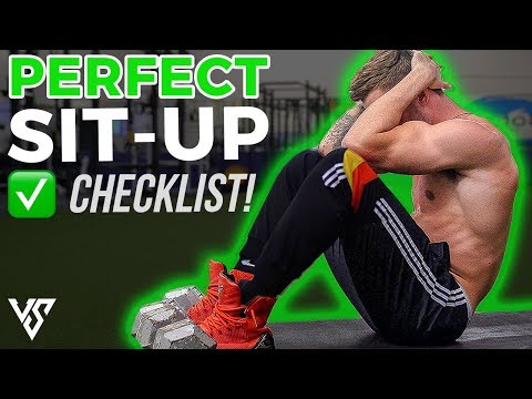 How To Do a Perfect Sit-Up (5 EASY STEPS!)