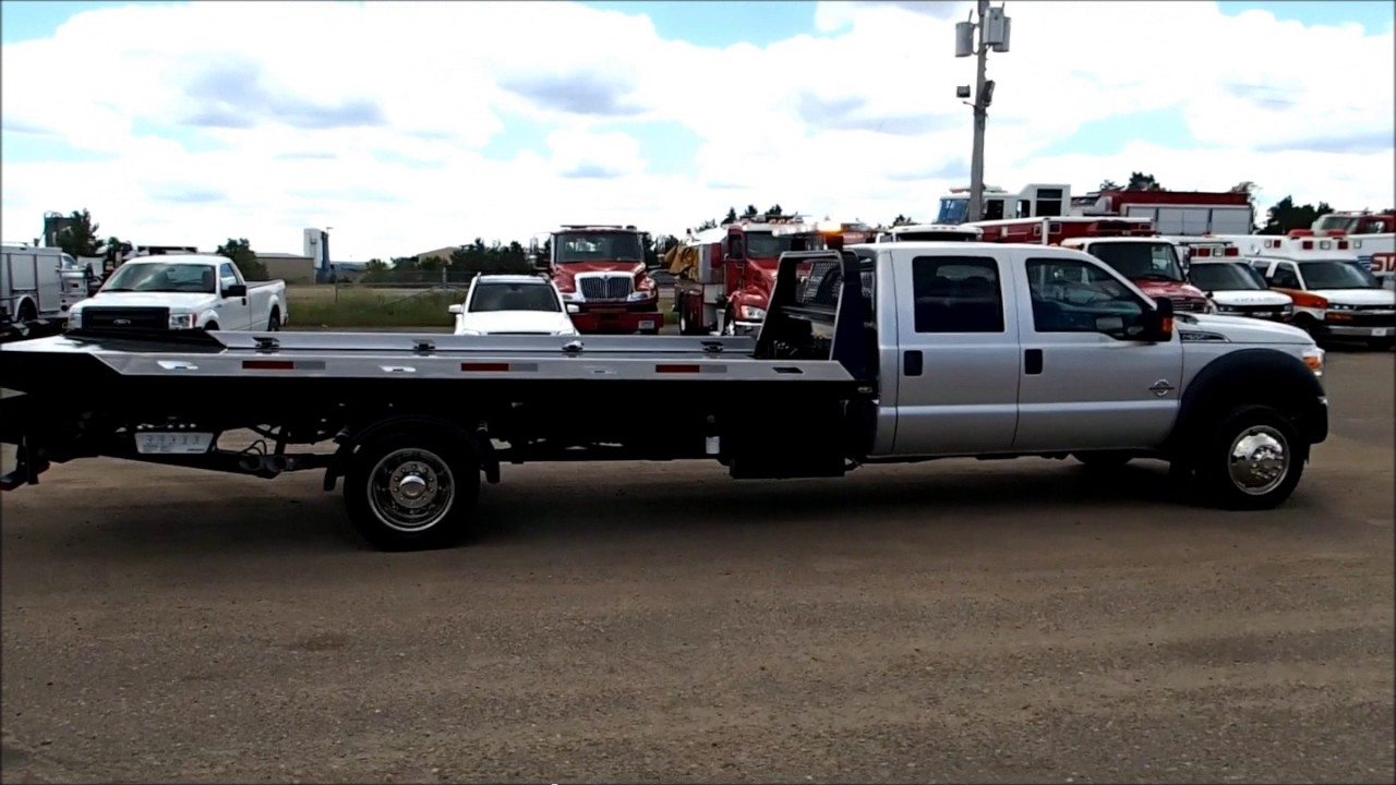 Ford f550 super duty 4x4 jerr dan rollback tow truck for sale