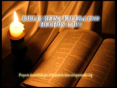 BIBLIA REINA VALERA 1960 HECHOS CAP 7