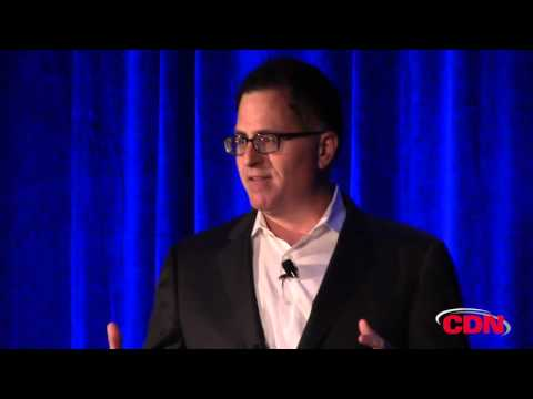 Michael Dell explains the EMC acquisition to channel partners