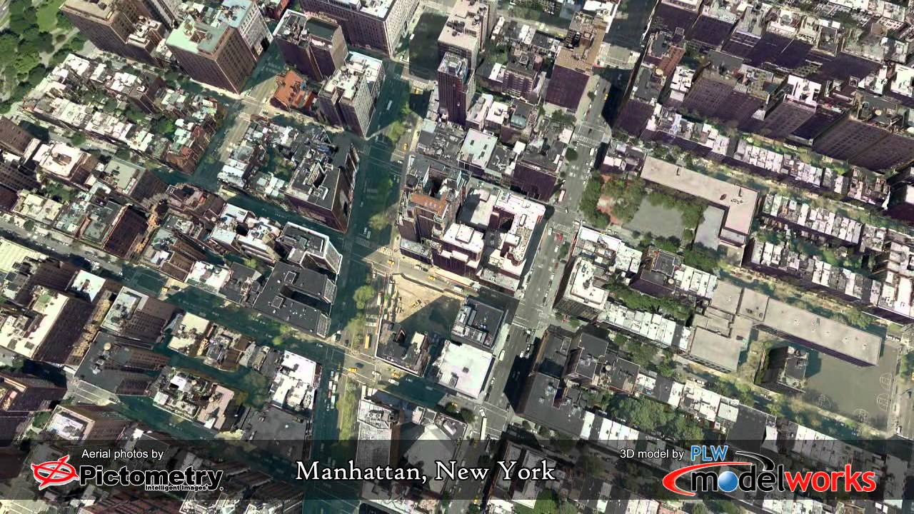 Manhattan 3D Model by PLW Modelworks
