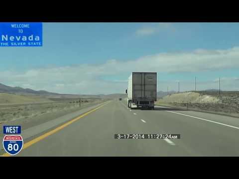 Salt Lake City UT to Reno NV 2014 HD Version