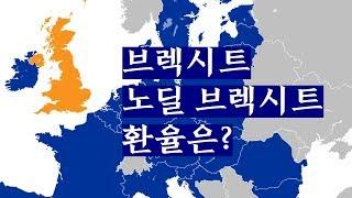 브렉시트,  노딜 브렉시트, 왜 영국은  EU와 갈라서려 하고 왜 또 3년이나  갈팡질팡 하나? 원화 환율에의 영향은?