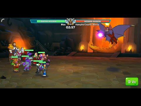 Hustle Castle - Dungeon Boss | Vampire Count's Arena