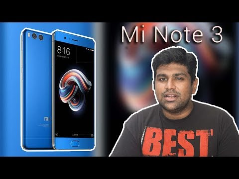 Xiaomi Mi Note 3 - The Budget Note You CAN Afford!