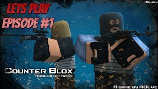 Roblox Counter Strike Lets Play Episode #1 (Very Fun Game)