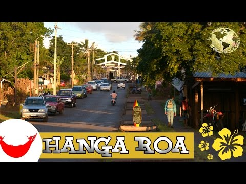 Isla de Pascua Videoguía, 1 Hanga Roa. Easter Island, Chile 2015