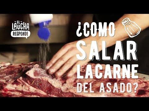 Como salar la Carne del Asado - El Laucha Responde
