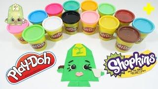 Giant Play-doh Shopkins Lee Tea Surprise Egg Decoration - Diy Play-doh Challenge!