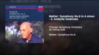 Mahler Symphony No 6 in A minor 3 Andante