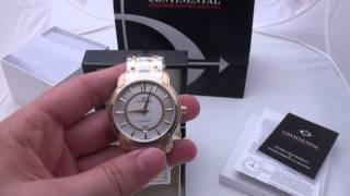 видео Часы Continental (Континенталь), купить с доставкой по Москве и РФ