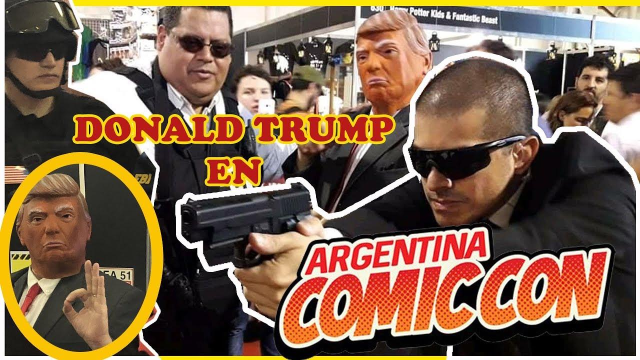 Argentina Comic Con  Diciembre 2018 con Donald Trump
