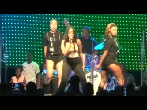 Victoria Kimani, Debie Rise, Yassy and Others Live Performance @ Music Africa Beach Splash 2015