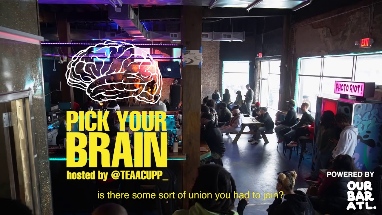 """Our Bar ATL: Film Industry Panel """"Pick Your Brain"""""""