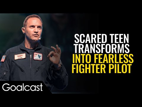 Air Force Pilot Teaches You How To Overcome Any Fear