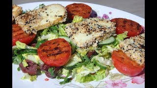 Юлия Высоцкая — Греческий салат с жареным сулугуни