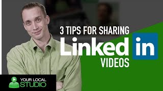 Sharing your Videos on LinkedIn? Follow These 3 Great Tips to Improve! | Ep 17
