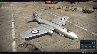 War Thunder - Finished Research On The Canberra B (I) Mk.6! (British Tier V Jet Bomber)