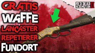 Gratis Lancaster  Repetiergewehr abstauben Fundort - Red Dead Redemption 2 Deutsch Tipps & Tricks