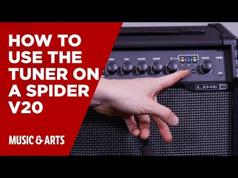 How to use the Tuner on a Spider V20
