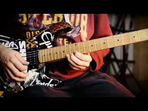 Warrant - Cherry Pie Guitar Lesson (solo)