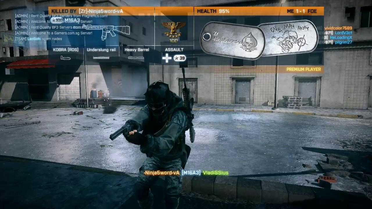 [FPS]Battlefield 3 - Grand Bazaar || RUSH || 32p