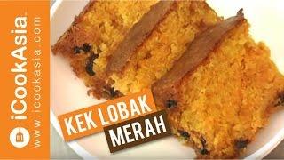 Resepi Kek Lobak Merah | Try Masak | Icookasia