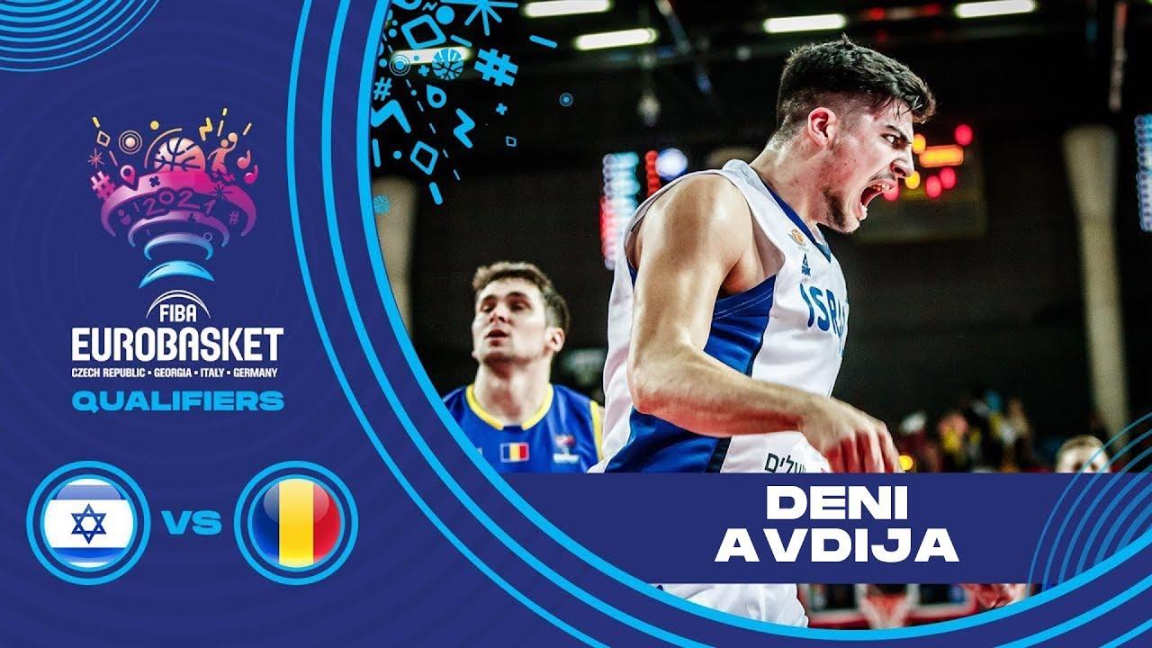 Deni Avdija amazing skills for Israel vs. Romania