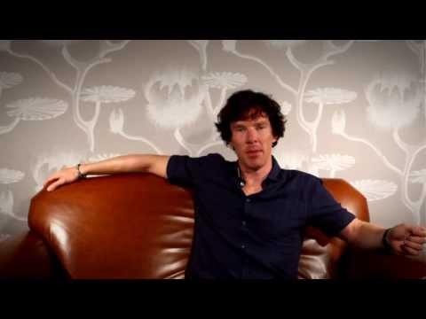 Martin Freeman and Benedict Cumberbatch video welcome at San Diego Comic Con 2013